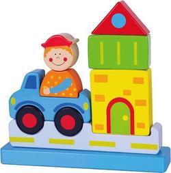 Viga Toys пазл деревянный, на магнитах  Город 59703afk