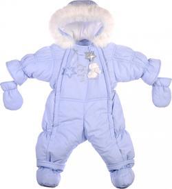 """Garden baby комбинезон-трансформер """"Ластенок"""" голубой 68 голубой 101010-36/32-68-голубой"""