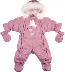 "Garden baby комбинезон-трансформер ""Ластенок"" темно-розовый 68 101010-36/32-68-темно-розовый"