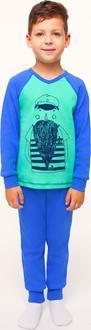 Smil пижама для мальчиков, синий 92 104366-92-синий