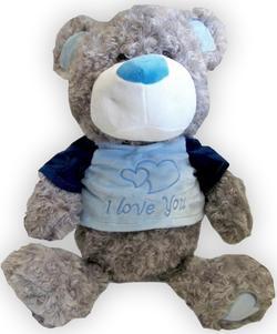 Morgenroth мягкая игрушка Медведь 34/48 см (в ассортименте) вихристый ABM48786-30