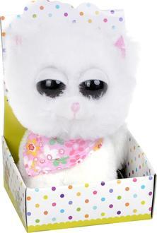 Morgenroth мягкая игрушка Кот 9х13 см Кот белый 9x13cм XY5507-белый