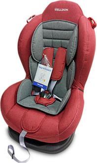 Welldon автокрісло Smart Sport красный/серый BS02N-S95-003