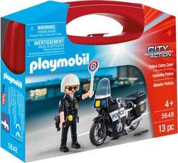 "Playmobil конструктор серии ""Полиция, спасатели"" Полиция(кейс) 5648ep"