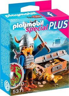 Playmobil конструктор «Special Plus» Викинг с сокровищами 5371ep