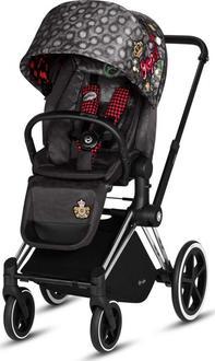 Cybex прогулочная коляска Priam Lux Seat Rebellious 519001269bbg