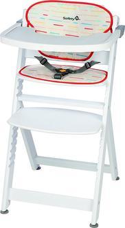 Safety 1st стілець для годування Timba (з подушкою) White/Red 2760431001