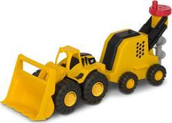 Toy State минитрейлер Погрузчик и буровая машина, 31 см 82093
