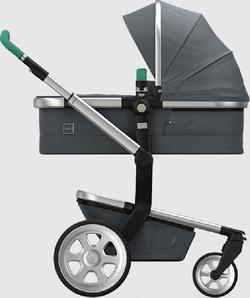 Joolz Day2 универсальная коляска Tailor Silver Emerald Green 570152