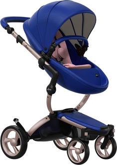 Mima універсальна коляска Xari Royal Blue – Rose Gold (cтартовый набор Pixel Pink) 30365iti