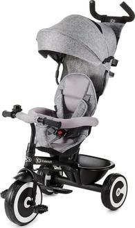 Kinderkraft триколісний велосипед Aston Grey KKRASTOGRY0000