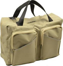Omali сумка с двумя накладными карманами для колясок бежевая om001605
