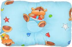 Omali ортопедическая подушка для новорожденных голубая om000301