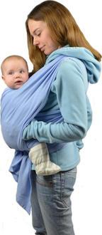 Omali трикотажный слинг-шарф голубой om000704