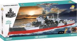 Cobi конструктор World Of Warships Корабель Його Величності «Уорспайт» COBI-3082