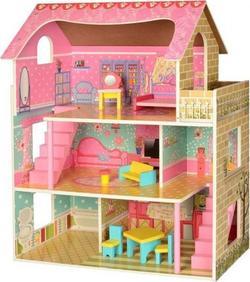 Bambi деревянный домик для кукол MD 2203 22406ber
