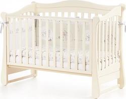 Верес кроватка детская Соня ЛД 18 без колес, на ножках патина Уценка18.1.1.1.14ver