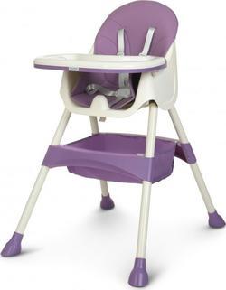 Bambi стульчик для кормления M 4136-2 plum 23661ber