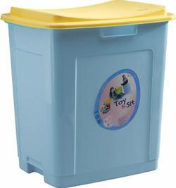 Prima-Baby комод для іграшок «Toy&Sit» Голубой 8624B