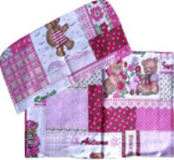 Руно комплект в детскую коляску 2 предмета Розовый 933