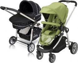 Kiddy коляска 2 в 1 Click'N Move 2 Green/Black 46110BG-097