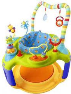 Kids II игровой центр круг с прыгунами Желтый 6961