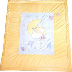 MyBaby плед двухсторонний Funny Bears Розовый 071005