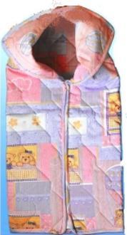 Руно конверт-трансформер для младенца перкаль, силикон Розовый 921.139С