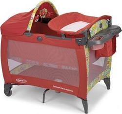Graco манеж-кровать Contour Electra Deluxe Красный G9D97GRZE