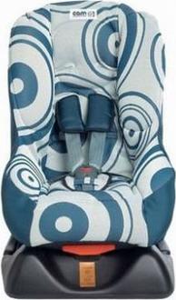CAM автокресло Ciao Lusso Синий с белым S147006/T610