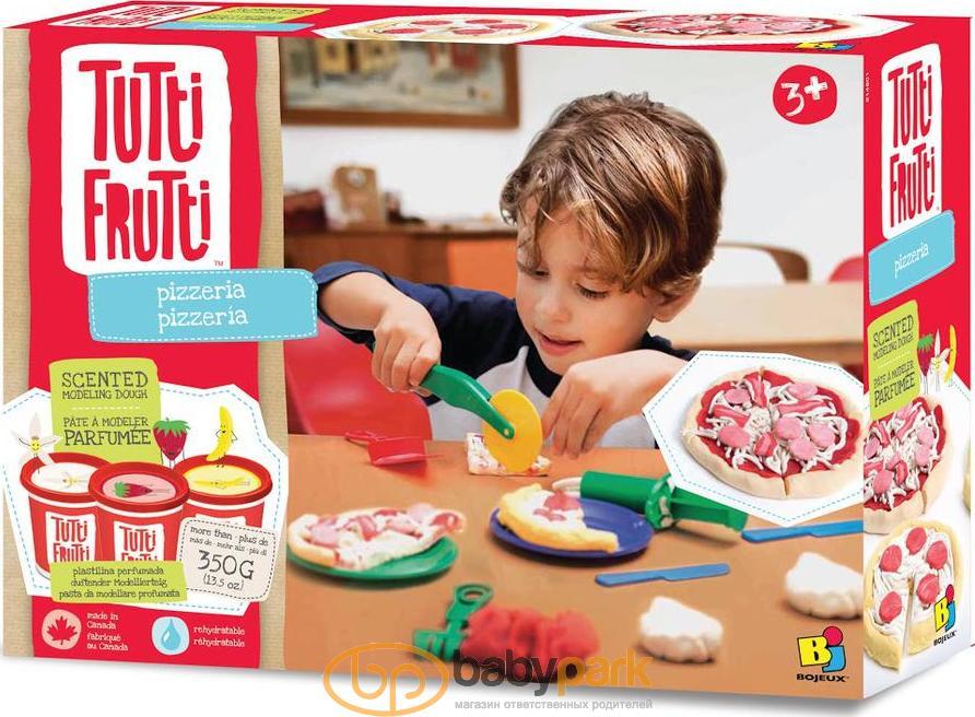 Tutti-Frutti набір для ліплення з кухонними аксесуарами Все для Пиццерии  BJTT14801bn 3042d6a433e37