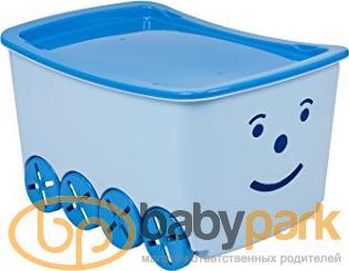 e181fc8d8bd8 ... Tega ящик для игрушек Play 52L BQ-005 light blue-blue 16991ber ...