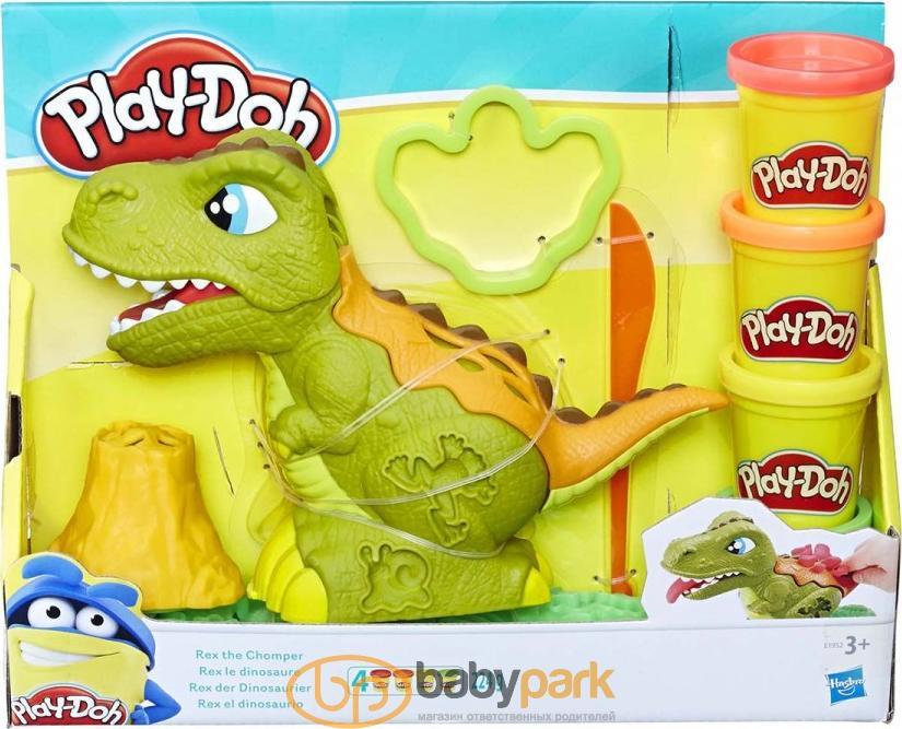 ... Hasbro Play-Doh ігровий набір Jurassic World Динозавр Рекс E1952EU4ep  ... bf04e5850667f