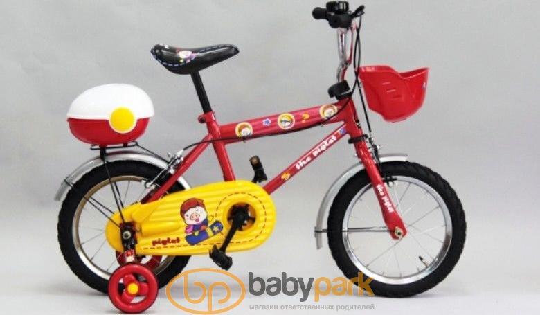 Geoby велосипед двоколісний JB1410 QX Красный c желтым JB1410 QX-E103D 193d199e76506