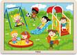 Viga Toys пазл 16 элементов Парк развлечений 51454afk